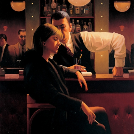 Cocktails And Broken Hearts by Jack Vettriano
