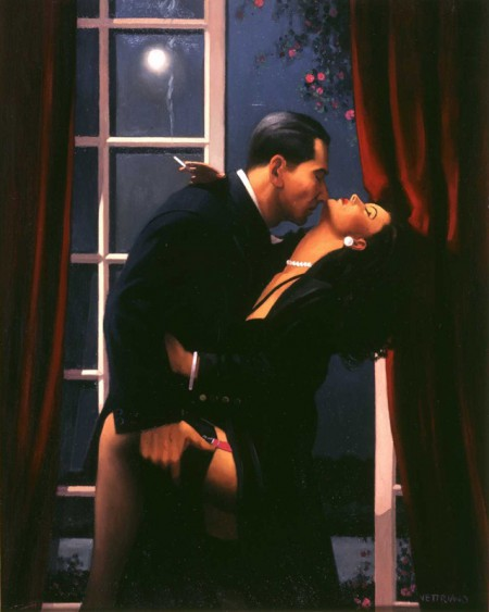 Night Geometry by Jack Vettriano
