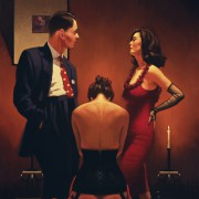 Scarlet Ribbons by Jack Vettriano