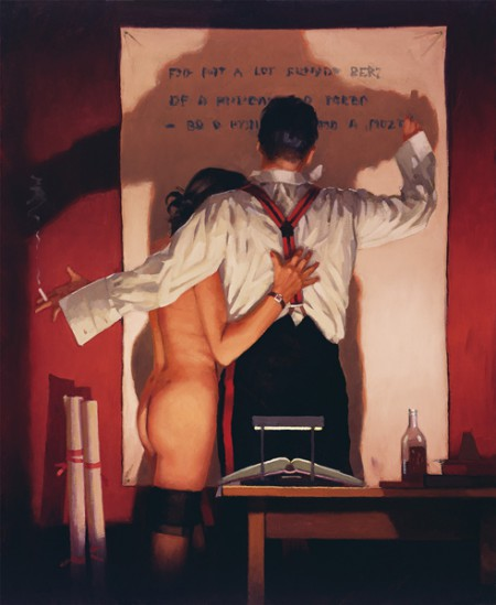 The Great Poet by Jack Vettriano
