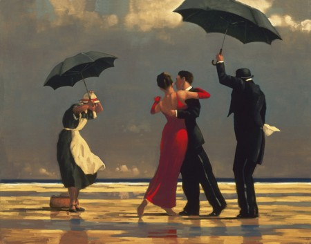 the singing butler small format sold by jack vettriano. Black Bedroom Furniture Sets. Home Design Ideas