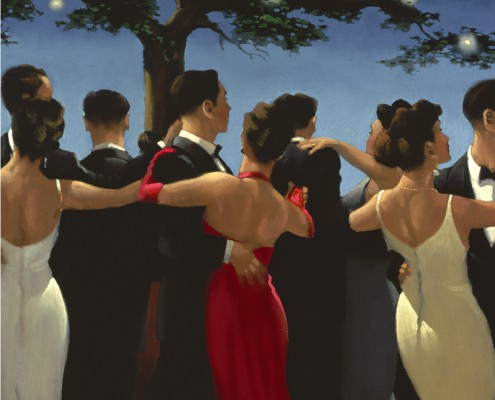 The Waltzers by Jack Vettriano