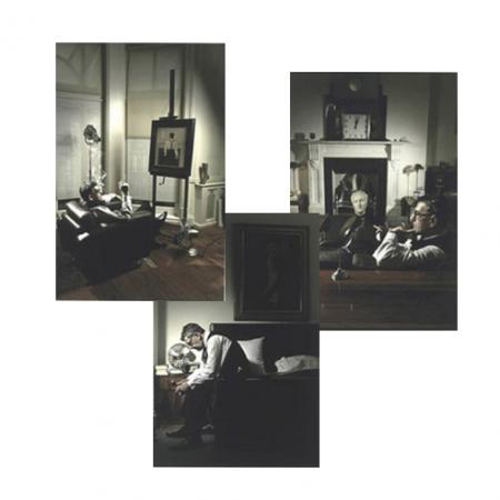 Vettriano Triptych by Fredi Marcarini