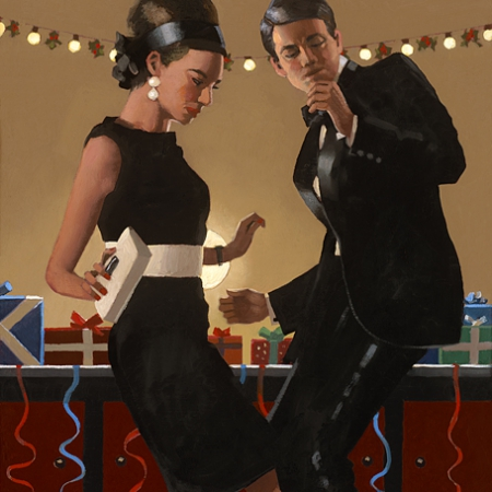 Let's Twist Again by Jack Vettriano