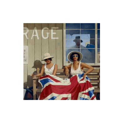 The British Are Coming by Jack Vettriano