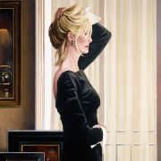 Black on Blonde by Jack Vettriano