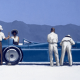 Bluebird at Bonneville by Jack Vettriano