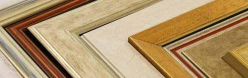 Mouldings for picture framing